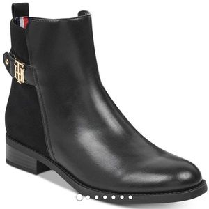 New Tommy Hilfiger Irsela sz 11 black booties